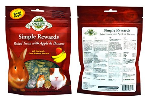 Oxbow-Simple-Rewards-All-Natural-Oven-Baked-Treats-for-Rabbit-Guinea-Pigs-Hamsters-and-Other-Small-Animals-Variety-Pack-4-Flavors-Apple-Banana-Bell-Pepper-Carrot-Dill-and-Cranberry-2-Ounce-Resealable-