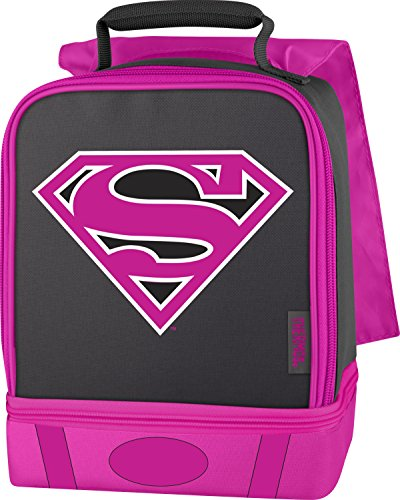 Thermos Dual Lunch Kit, - Pink Lunch Box Igloo