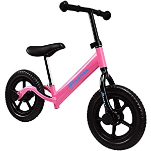 Maxtra Lightweight Balance Bike No Pedal Bicycle Adjustable Handlebar and Seat For Ages 2 to 5 Year old