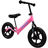 Maxtra Lightweight Balance Bike Safety Designed No Pedal Training Bicycle with Adjustable Seat and Handlebar For Ages 2 to 5 Years