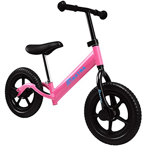 Maxtra Lightweight Balance Bike Safety Designed No Pedal Training Bicycle with Adjustable Seat and Handlebar For Ages 2 to 5 Years by Maxtra