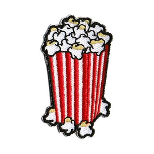 - Popcorn Patch Food Patches Cool Iron On Patches Funny Patches For Jackets