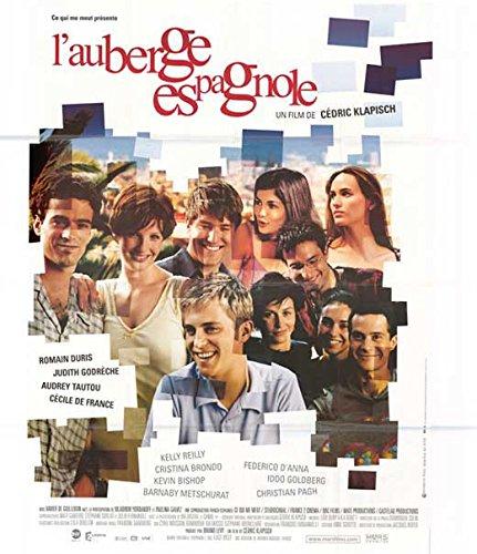 L' Auberge Espagnole Poster French 27x40 Romain Duris Judith Godr?che Audrey Tautou