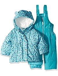 Girls' 2-Piece Heavyweight Printed Snowsuit