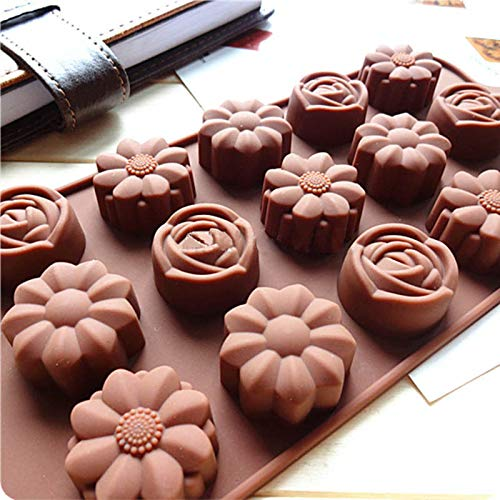A 12 Cavity Silicone Owl Cartoon Cute Chocolate Cake Mold Baking Ice Perfect Tray Mould