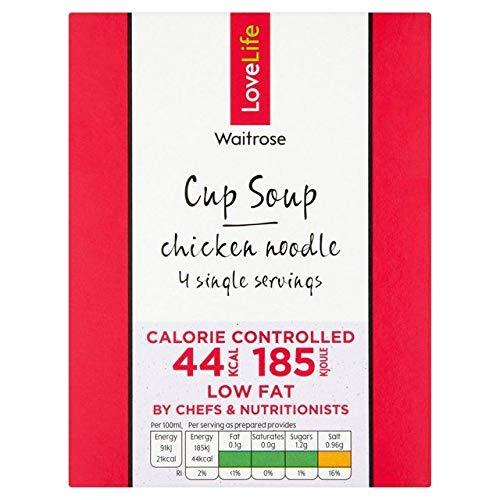 Waitrose Chicken Noodle Soup 4 x 13g