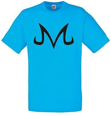 Majin Buu Corrupted Symbol Mens Printed T Shirt Amazon