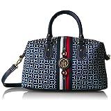Tommy Hilfiger Bags for Women, Jaden Handbag, Navy/White