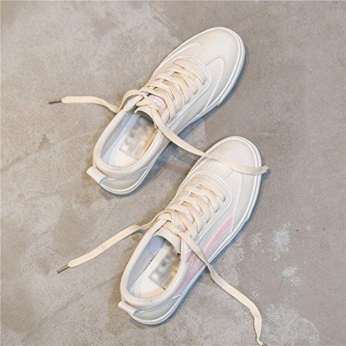 Tamaño Verano Opcionales 3 color Para Eu36 De uk4 Versión Mujer Lona Colores La 02 01 Estudiantes Feifei Zapatos cn36 Coreana Z7zvqwOv