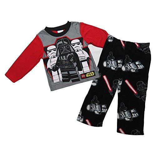 Star Wars Boys' Lego, Darth Vader, and Stormtrooper Pajama Set (4)