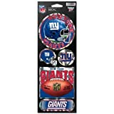 NFL Prismatic Stickers ( Color:New York Giants) by WinCraft