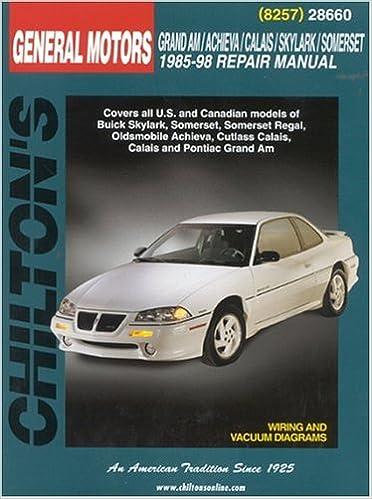 grand am vehicle manual