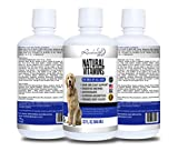 Natural Vitamins for Dogs, Boosts Immune System & Digestion, Promotes Healthy Skin & Shiny Coat, Antioxidants, Minerals, Amino Acids, Glucosamine, Premium Liquid Dog Multivitamin 32 fl oz