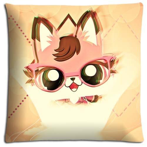 Littlest Pet Shop Bedding - SPXUBZ Zippered Safe Removable Bedding Pillow Covers Case Polyester Cotton Littlest Pet Shop Size£º20x20 Inch