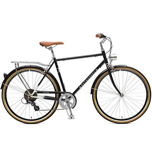Retrospec Mars Hybrid City Commuter Bike, 58cm/Large, Black, 7-Speed (Hybrid Specialized Bike)