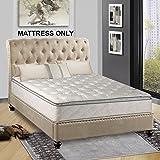 Continental Matress,Medium Firm Orthopedic 10'' Fully Assembled Pillow Top Mattresss,  King