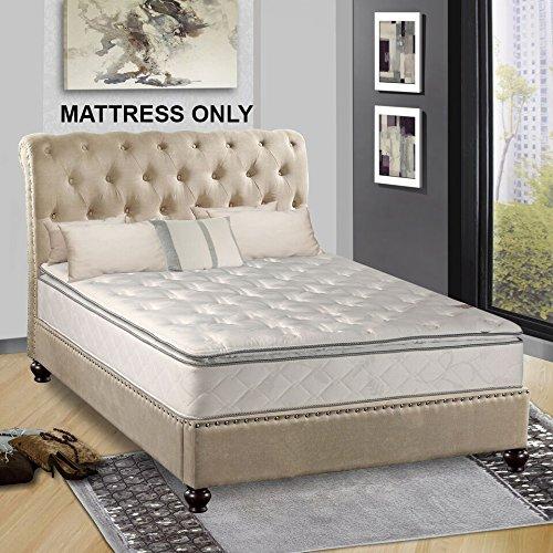 Continental Matress,Medium Firm Orthopedic 10'' Fully Assembled Pillow Top Mattresss,  King by Continental Mattress