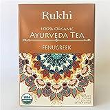 Fenugreek Ayurveda Tea, 100% Organic, Caffeine-Free Herbal Tea Sachet Bags, 15 Count