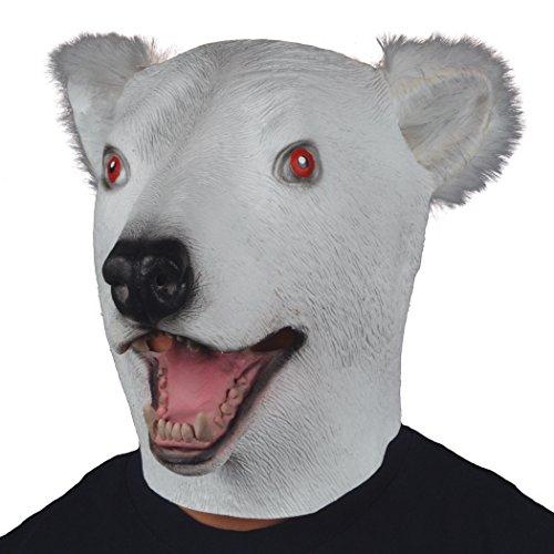 polar bear mask - 2