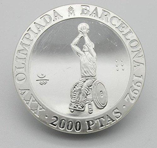 Desconocido Moneda de 2000 Pesetas en Plata de las ...