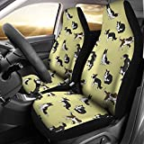 Wear My Pet Amazing Border Collie Pattern Print Car Seat Covers For Sale