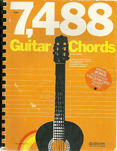 7, 488 Guitar Chords: 34 types of chords in all keys, fully ...