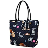 Cat Playground World NGIL Quilted Tote Bag For Sale