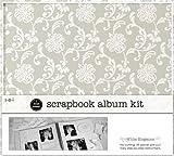 SEI 1 Hour Album Scrapbook Kit 12''X12''-White Elegance