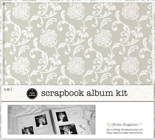 SEI 12-Inch by 12-Inch 1-Hour Album Scra - Wedding Page Kit Shopping Results