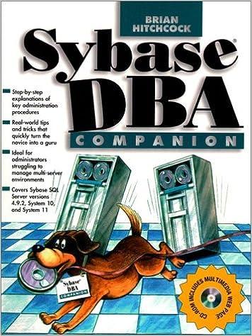 Sybase DBA Companion