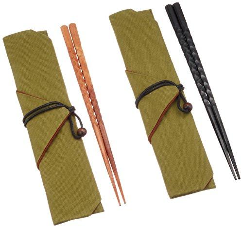 Maruju Paulownia-boxed Kirameki Bashi(for husband and wife)with a chopstick bag