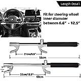 Tevlaphee Steering Wheel Lock For Cars,Wheel