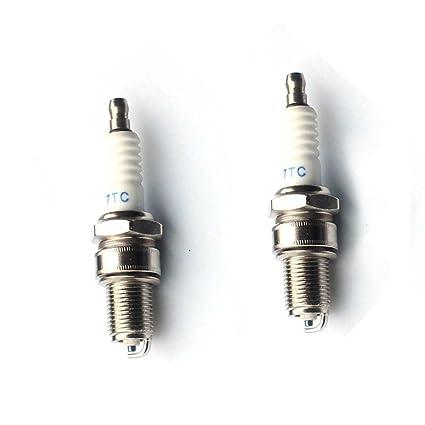 tucparts Pack de 2 F7TC Bujía Para Honda GX110 GX120 GX140 ...