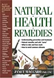 Natural Health Remedies, Janet Maccaro, 1591858976