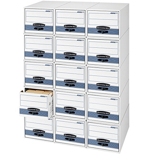 Bankers Box STOR/DRAWER STEEL PLUS Extra Space-Saving