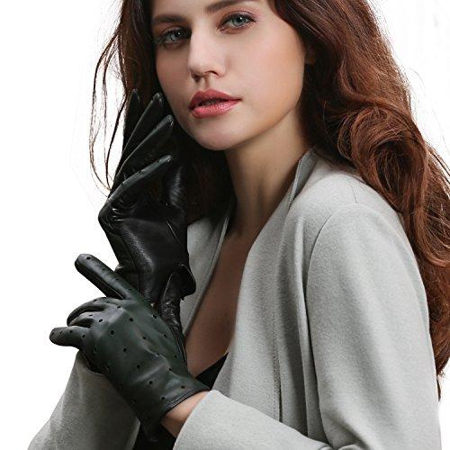 【GSG】レディース 本革 羊革 レザー グローブ 女性用 手袋14115
