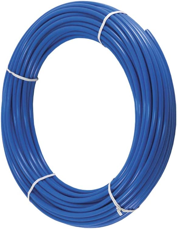 PureSec 2020 Blue 1/4 Inch RO Tubing Quarter inch PE Tubing NSF Certified CCK Tubing at 70°F-120PSI to 150°F-60PSI(30 Feet)