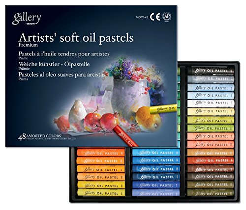 Mungyo Gallery Soft Oil Pastels Set of 48 - Assorted Colors by Mungyo Gallery MOPV-48