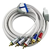 Monster Wii Cable GameLink Component Video and Stereo Audio A/V Kit
