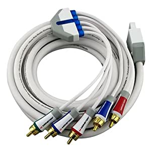 Monster Wii Cable Gamelink Component Video And Stereo