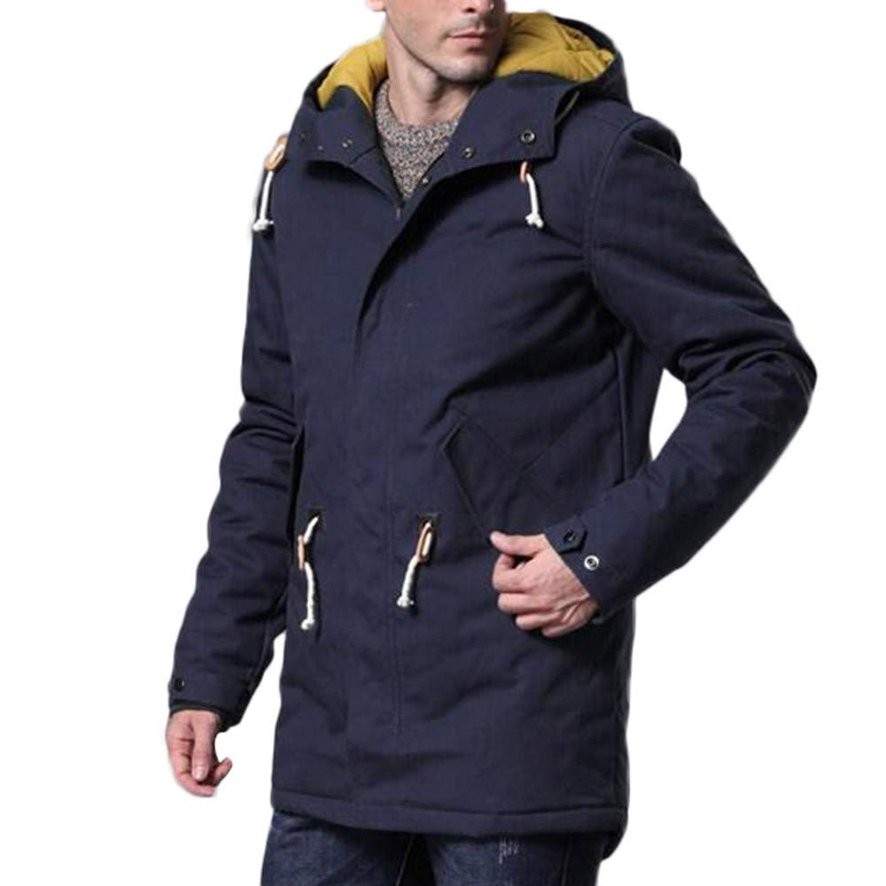 Pandaie-Mens Product OUTERWEAR メンズ Large ダークブルー B07K86FH64