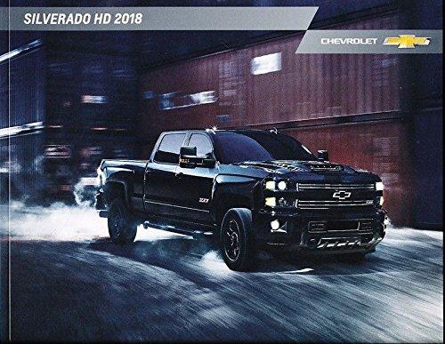 2018 Chevrolet Silverado HD Truck 46-page Original Sales Brochure Catalog (Silverado Sales Brochure)