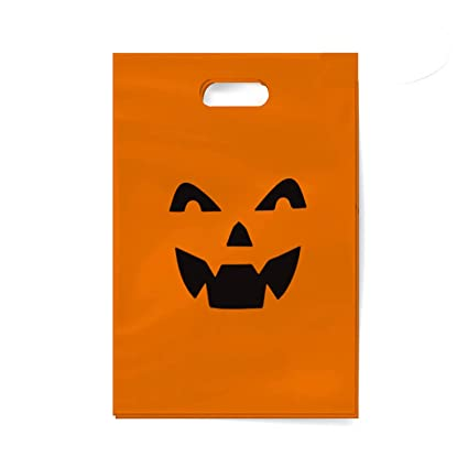 The Twiddlers 75 Bolsas de Fiesta de Halloween - Diseños de Halloween Fiestas, Bolsas para Regalos Sorpresa - Trick or Treat, Juguetes Favores Sacos