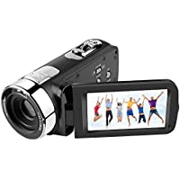 Digital Camera 301S 3 Night Vision Camcorders 5MP FHD Video Recorder With HDMI Output Remote Control 16X Digital Zoom 270 Degree Rotation Screen For Home entertainment Outdoor activities