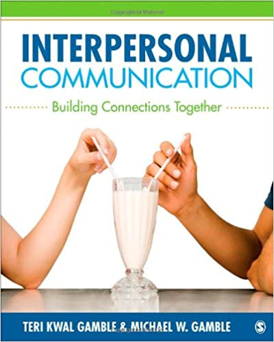 Book Interpersonal Communication: Building Connections Together