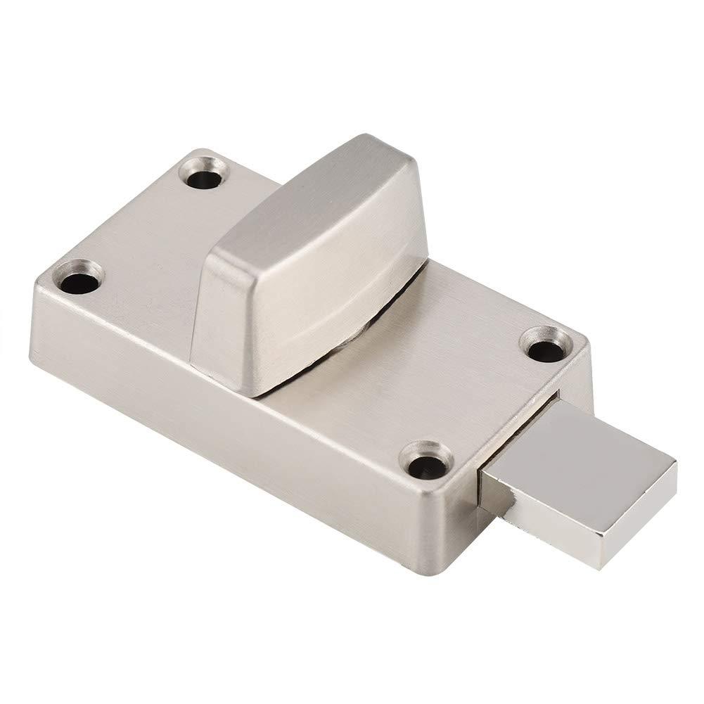 Indicador de bloqueo de puerta cerradura de perno de puerta con indicador de privacidad y tornillos para cuarto de ba/ño o ba/ño