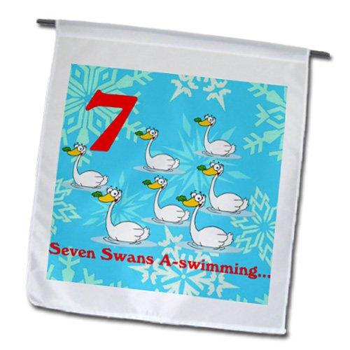 Edmond Hogge Jr - 12 Days Of Christmas Seven Swans A-swim...