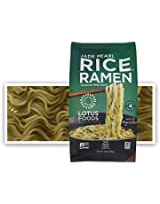 Lotus Foods Rice Ramen Noodles, Jade Pearl Rice with Miso Soup, 10 Count