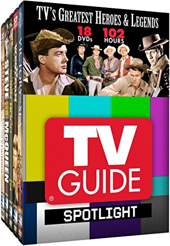 DVD : TV Guide Spotlight: Heroes & Legends (Boxed Set, 20 Disc)