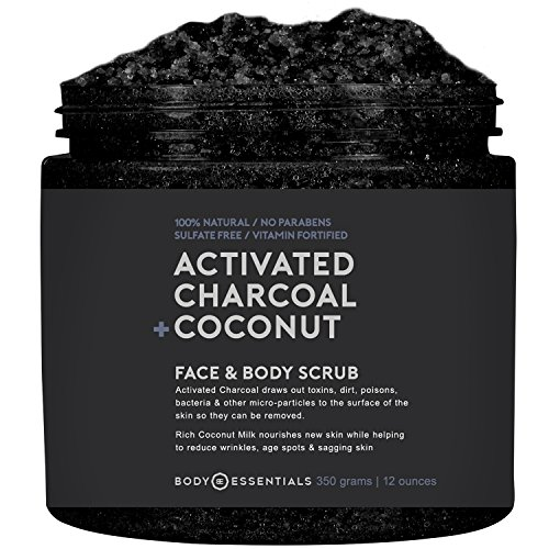 Activated Charcoal Body Scrub - 7